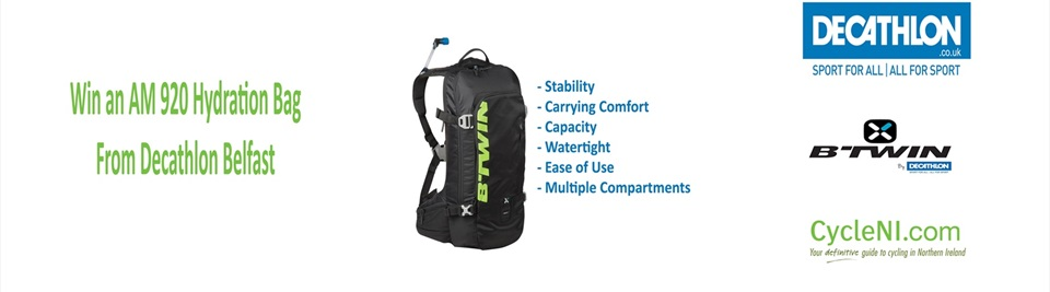 Win an AM 920 Hydration Bag from Decathlon!