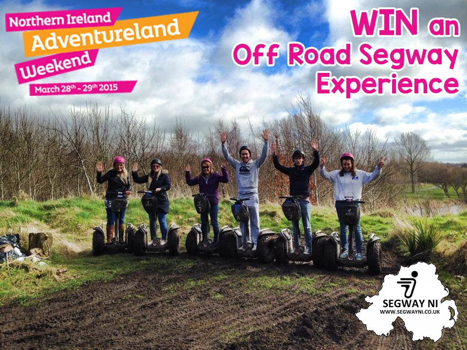 Win an Off Road Segway Session for 2!