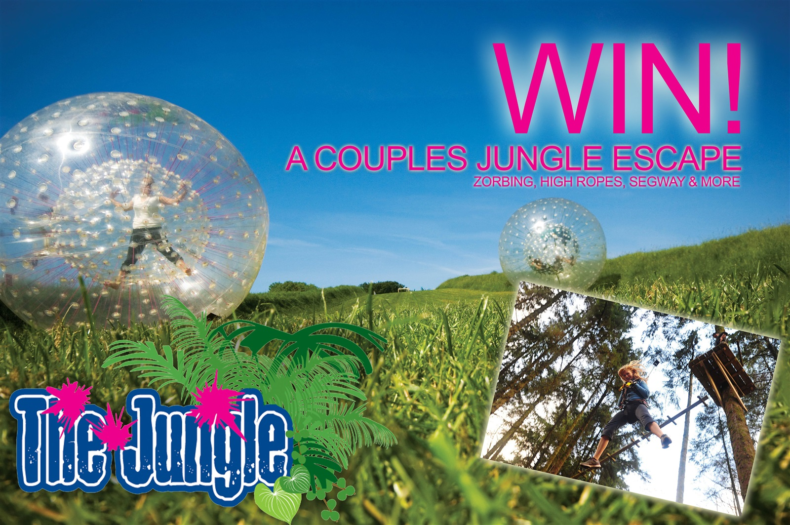 Win a Couples Jungle Escape