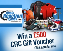 WIN a £500 Gift Voucher courtesy of Chain Reaction Cycles Flagship Store in Belfast.