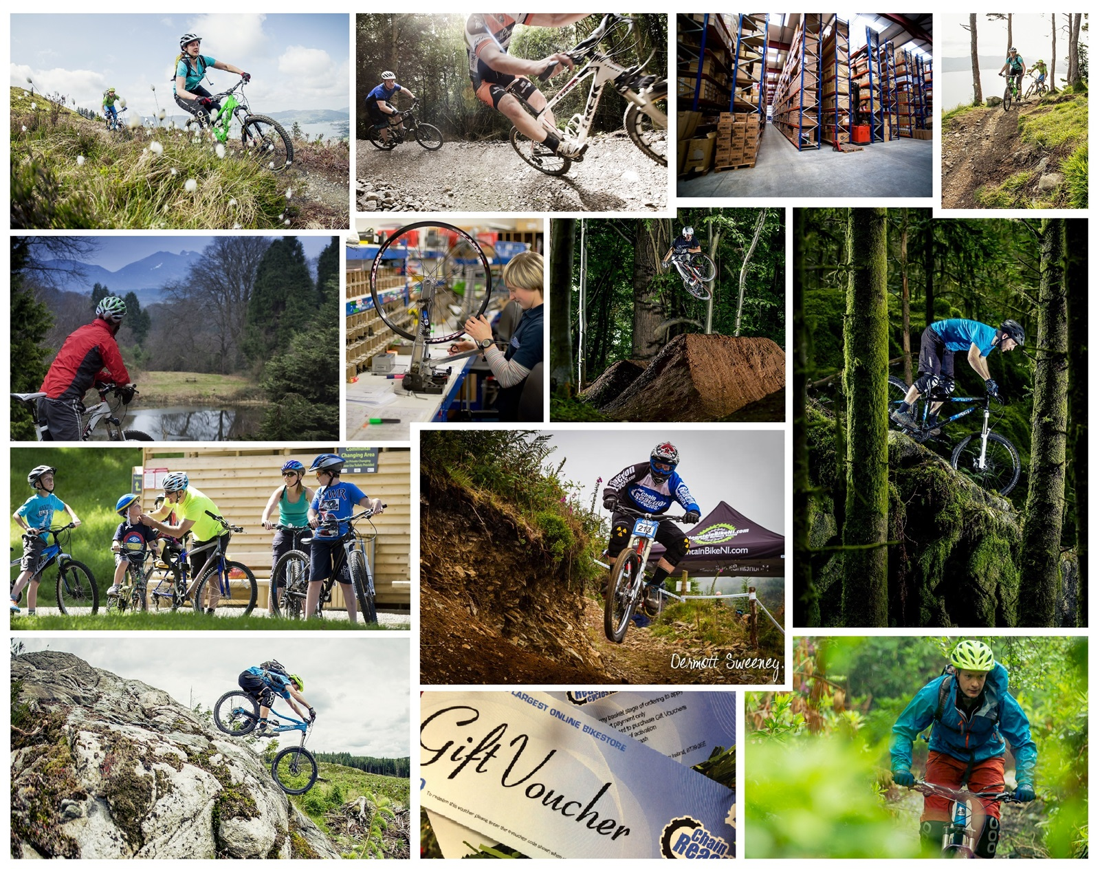 Mountainbike competition